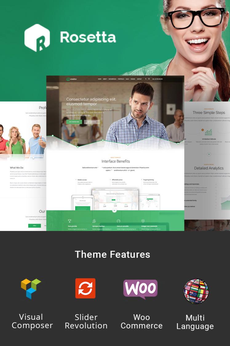 Rosetta Creative WordPress Theme