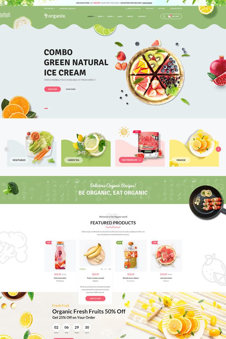 Organix WooCommerce Themes