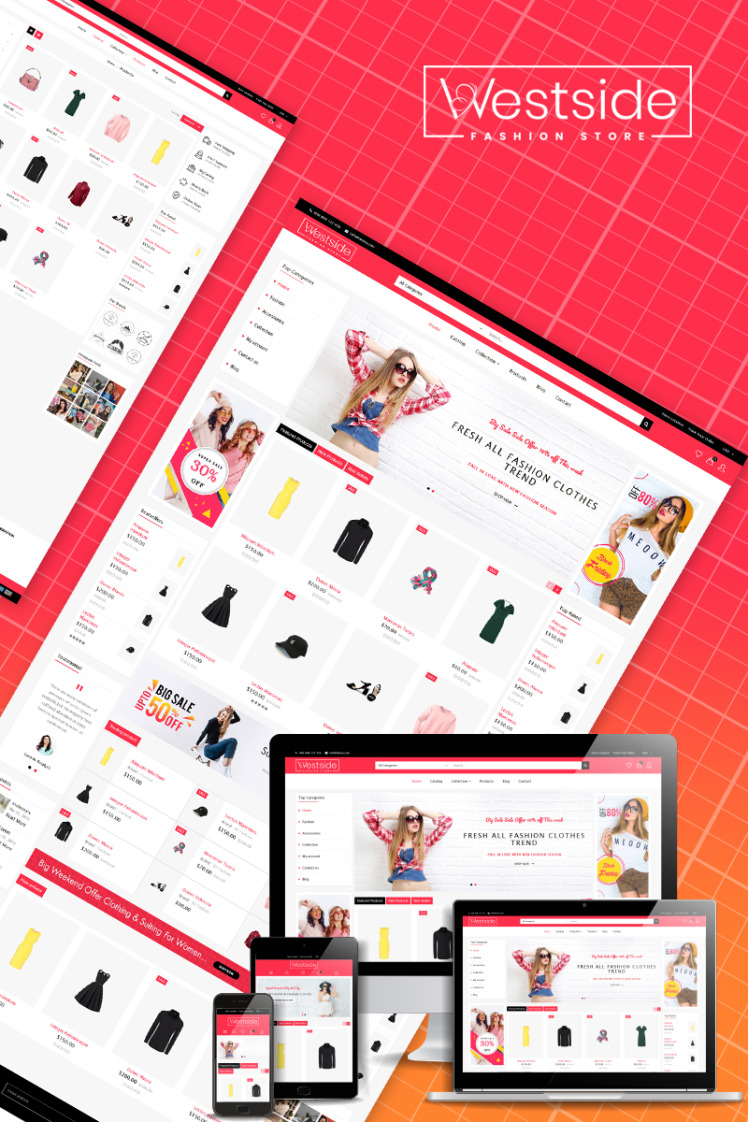 West Side Multipurpose Shopify Themes