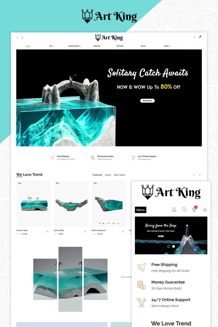 Art King Decor Bootstrap Store PrestaShop Themes