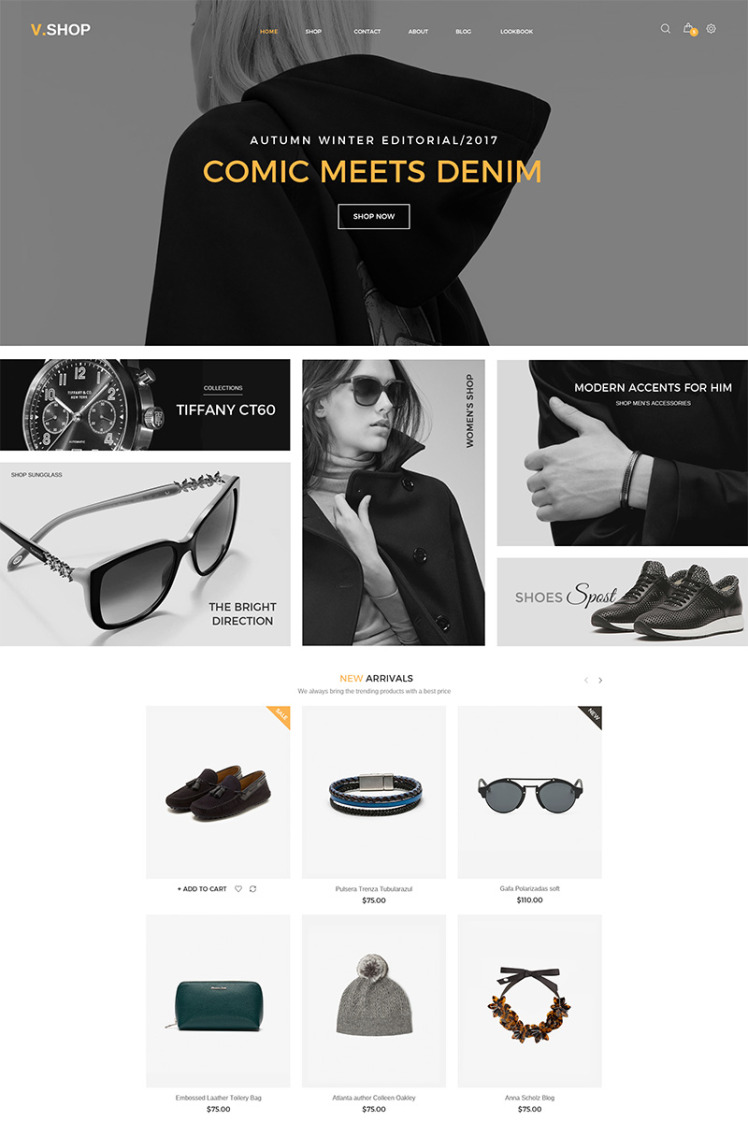 VShop WooCommerce Themes