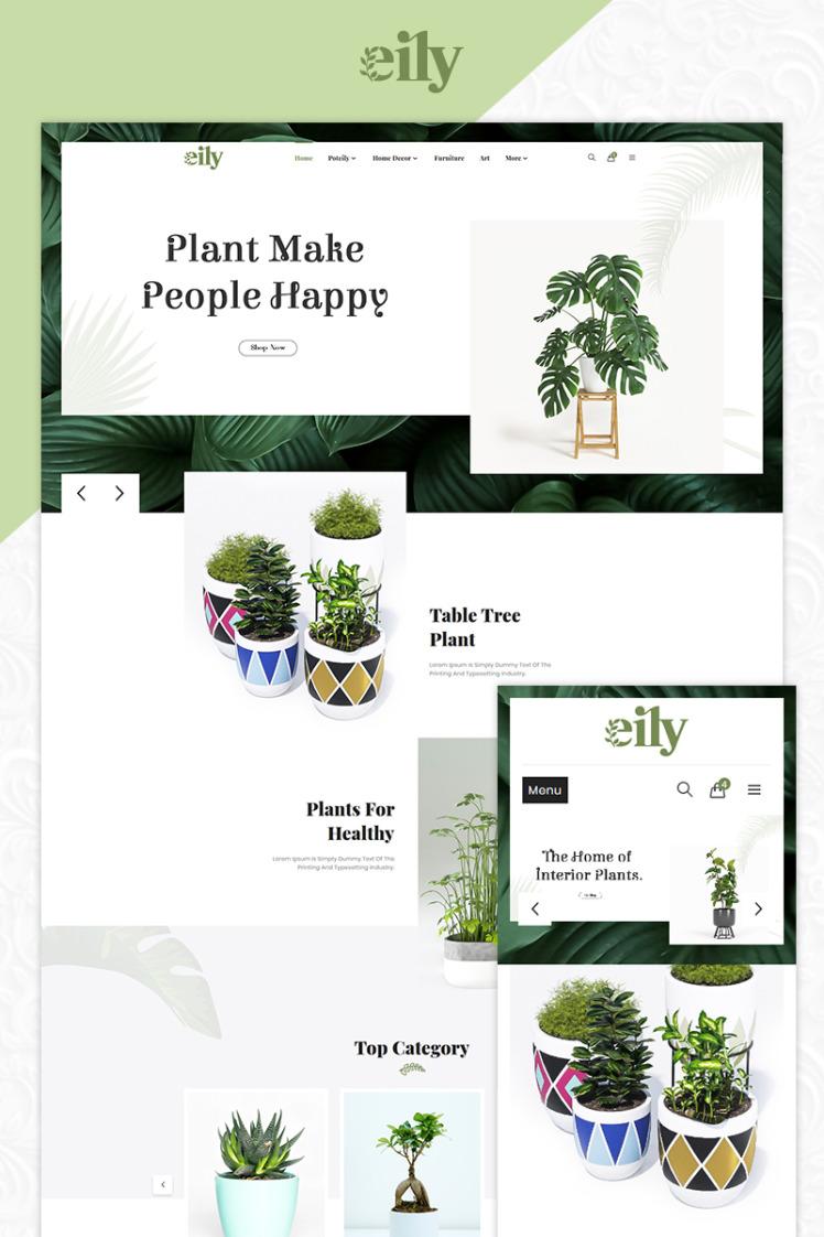 Eily Pot and Decor Shop PrestaShop Themes