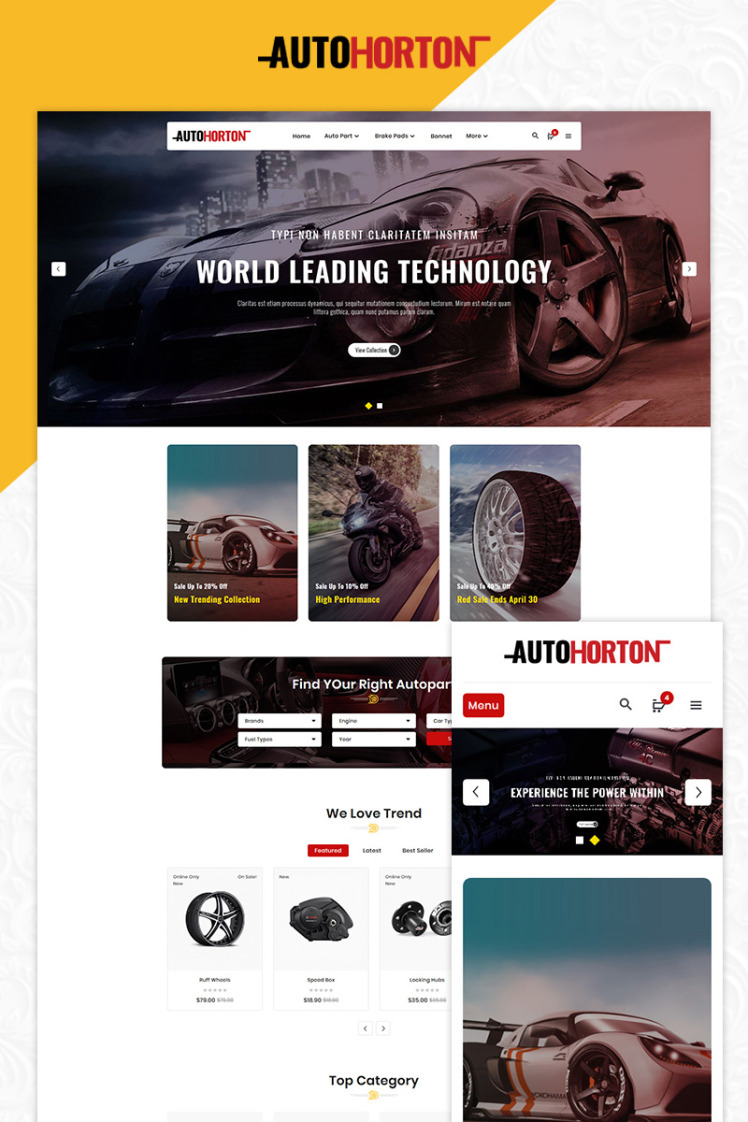 AutoHorton Multipurpose Store PrestaShop Themes