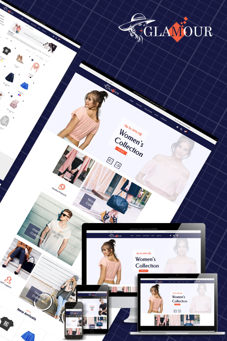Glamour Multipurpose Shopify Themes