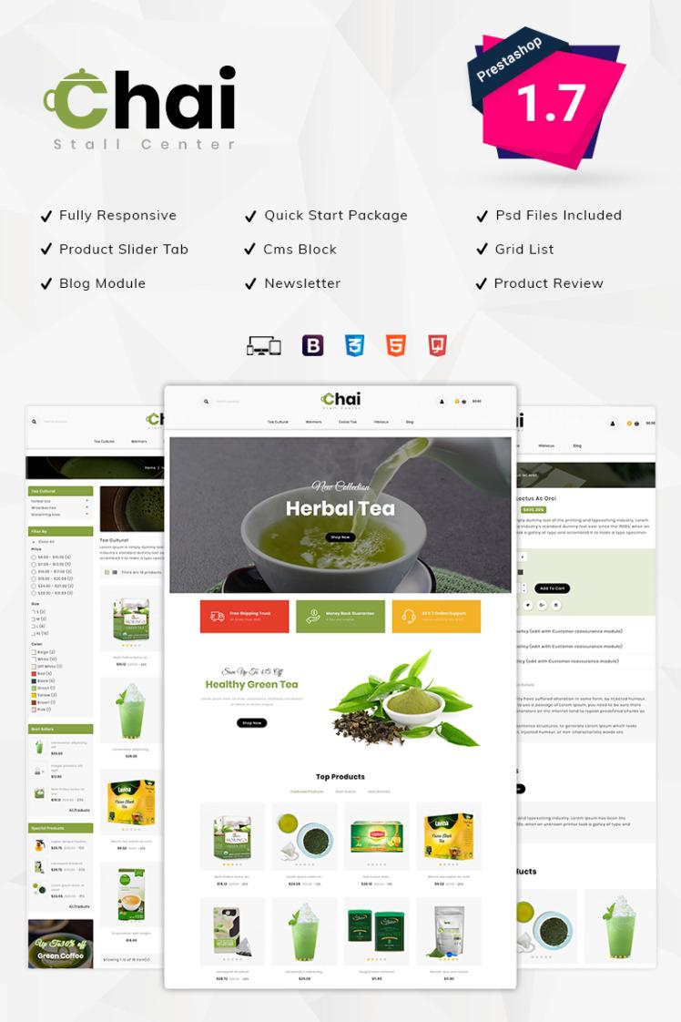 Chai Stall Store PrestaShop Themes