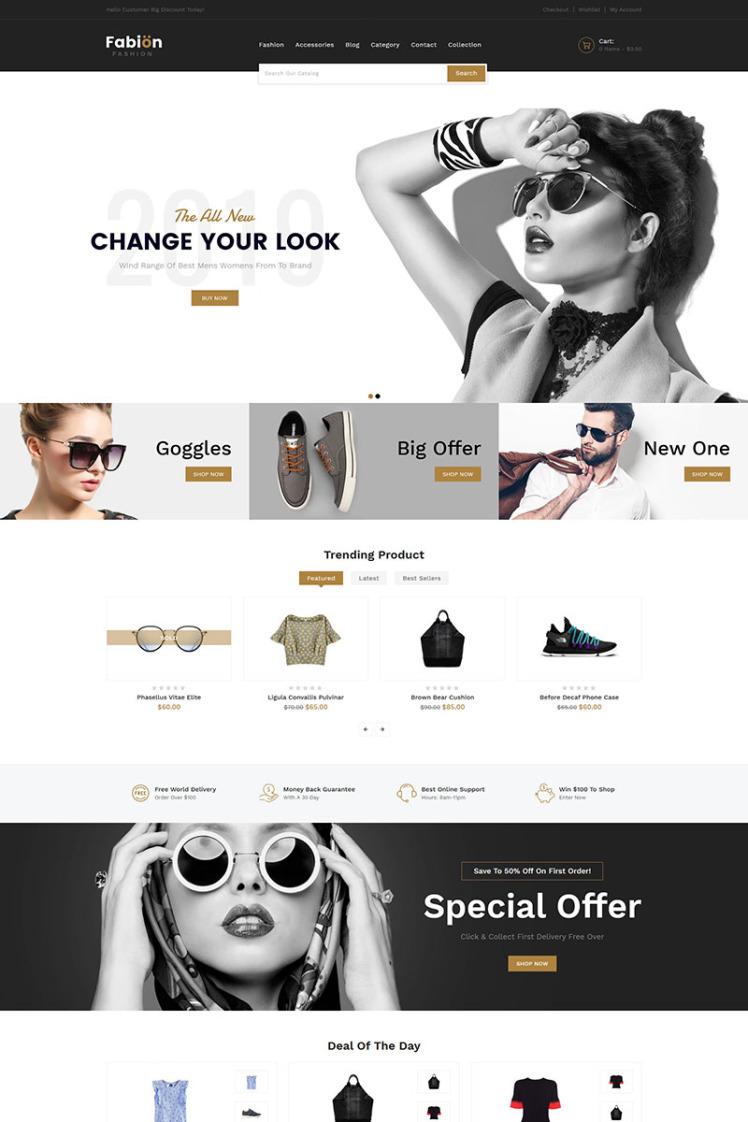 Fabion Fashion Shopify Themes