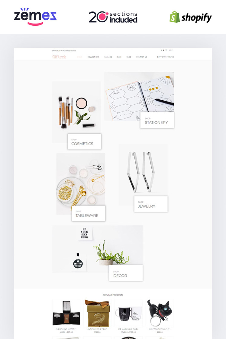 Gift Gifts Shop Shopify Theme