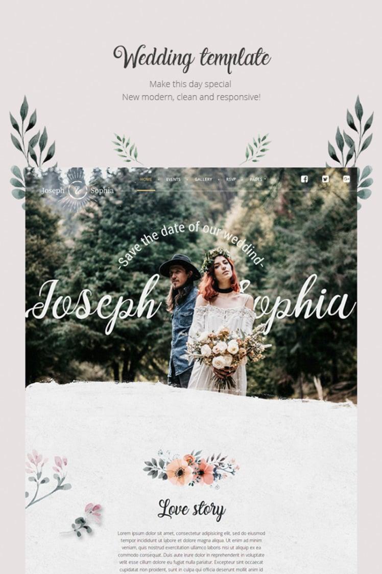 QueenFlowers Wedding WordPress Theme