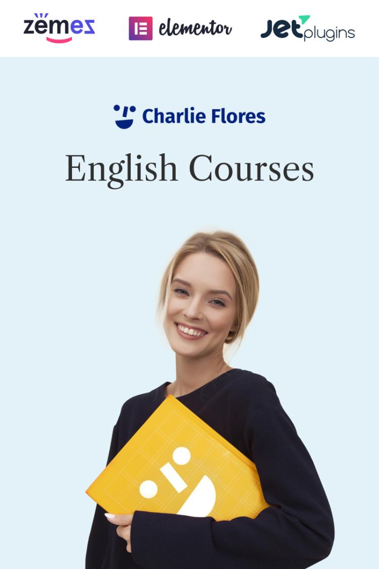 Charlie Flores Teaching Portfolio Website WordPress Theme