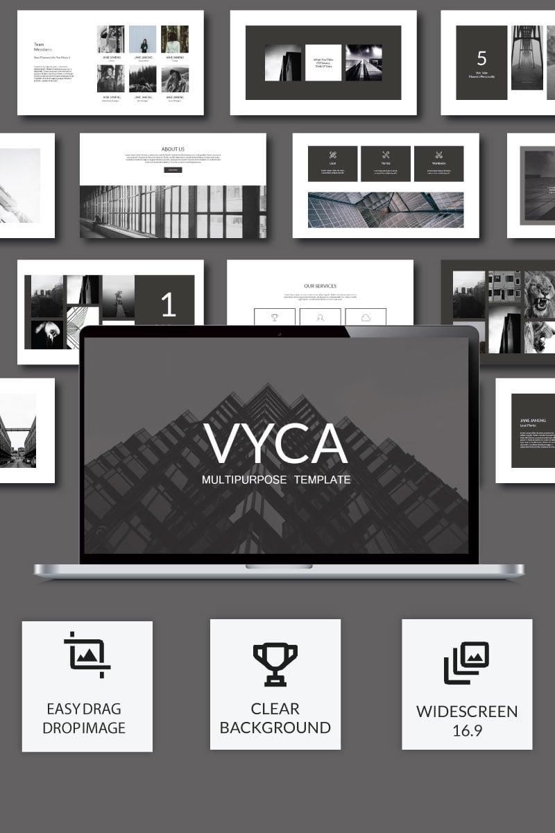 """Vyca Presentation"" Premium PowerPoint Template №74912 - screenshot"