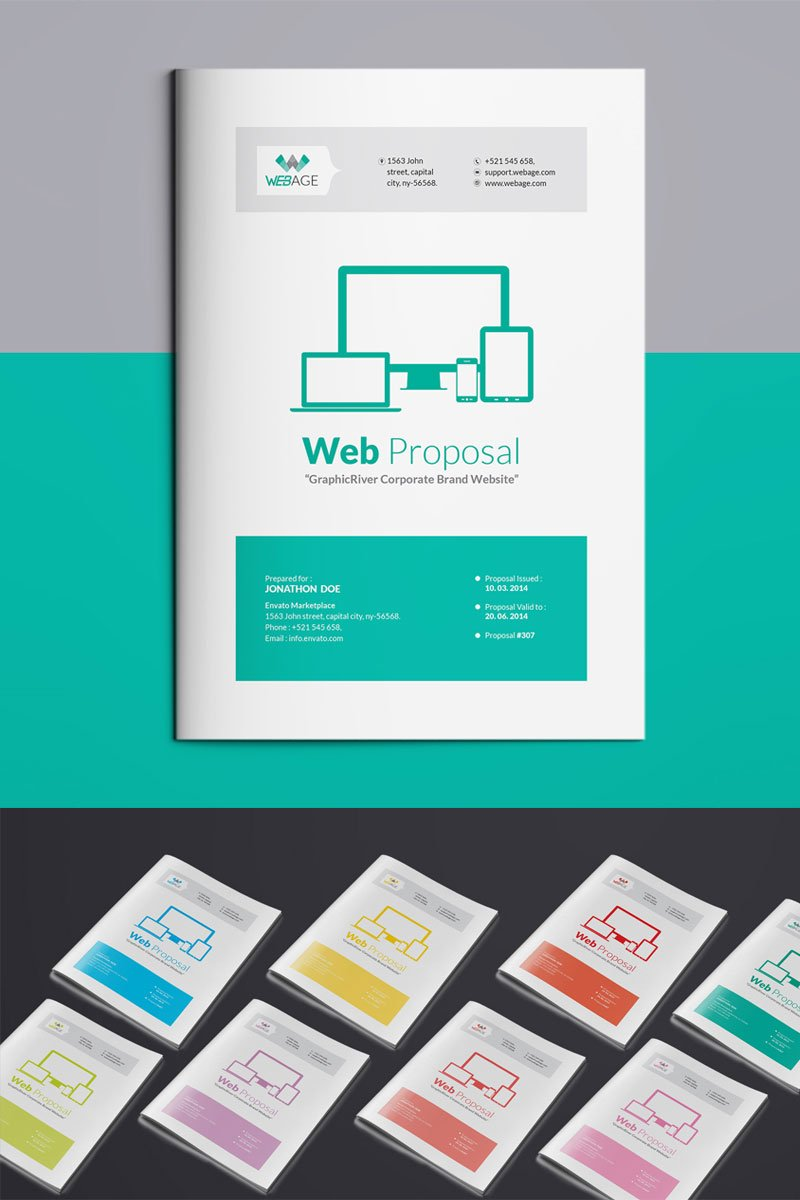 Website Proposal Corporate Identity Template