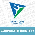 Sport Corporate Identity Template 7517