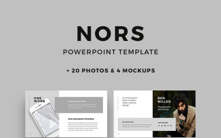 NORS + Big Bonus PowerPoint Template