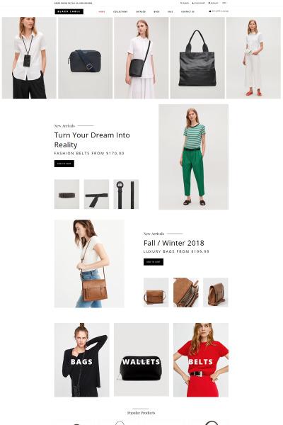 Responsive Tema Shopify #75178 para Sitio de  para Sitio de Acccesorios