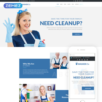 Cleaning Templates Web