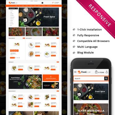 Купить  пофессиональные OpenCart шаблоны. Купить шаблон #75214 и создать сайт.