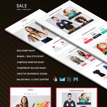 Купить  пофессиональные Email шаблоны. Купить шаблон #75221 и создать сайт.