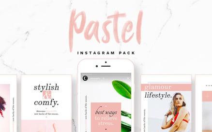 Pastel - Instagram Stories & Posts Social Media
