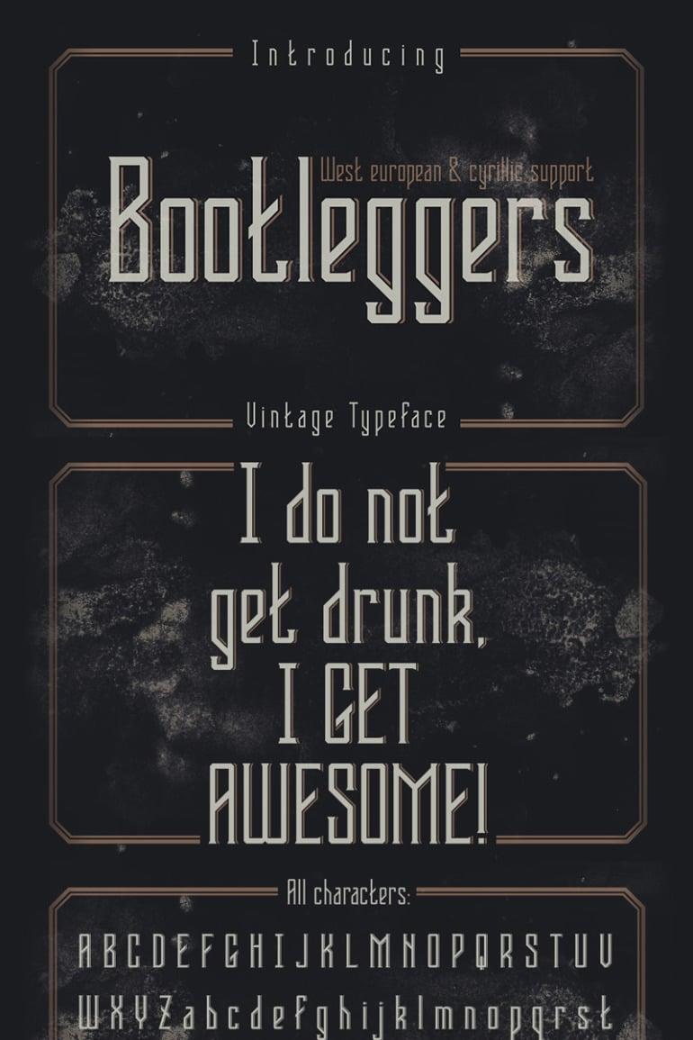 Bootleggers Font