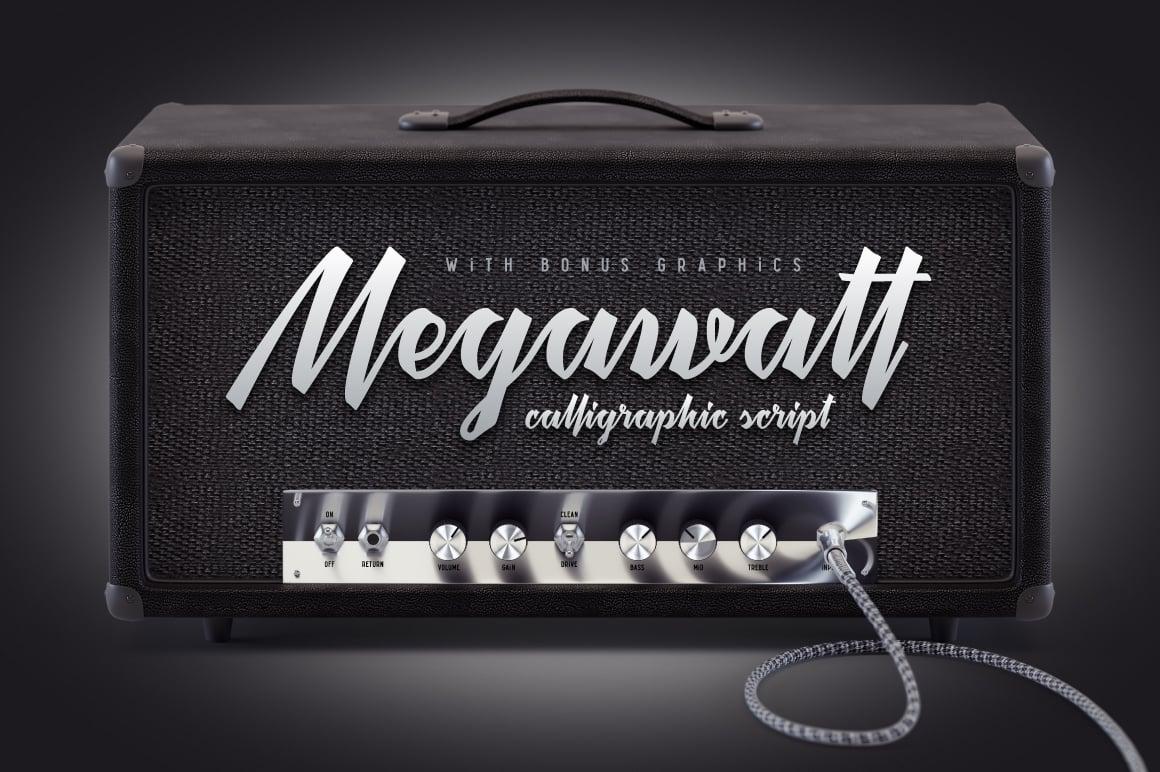 Megawatt Font
