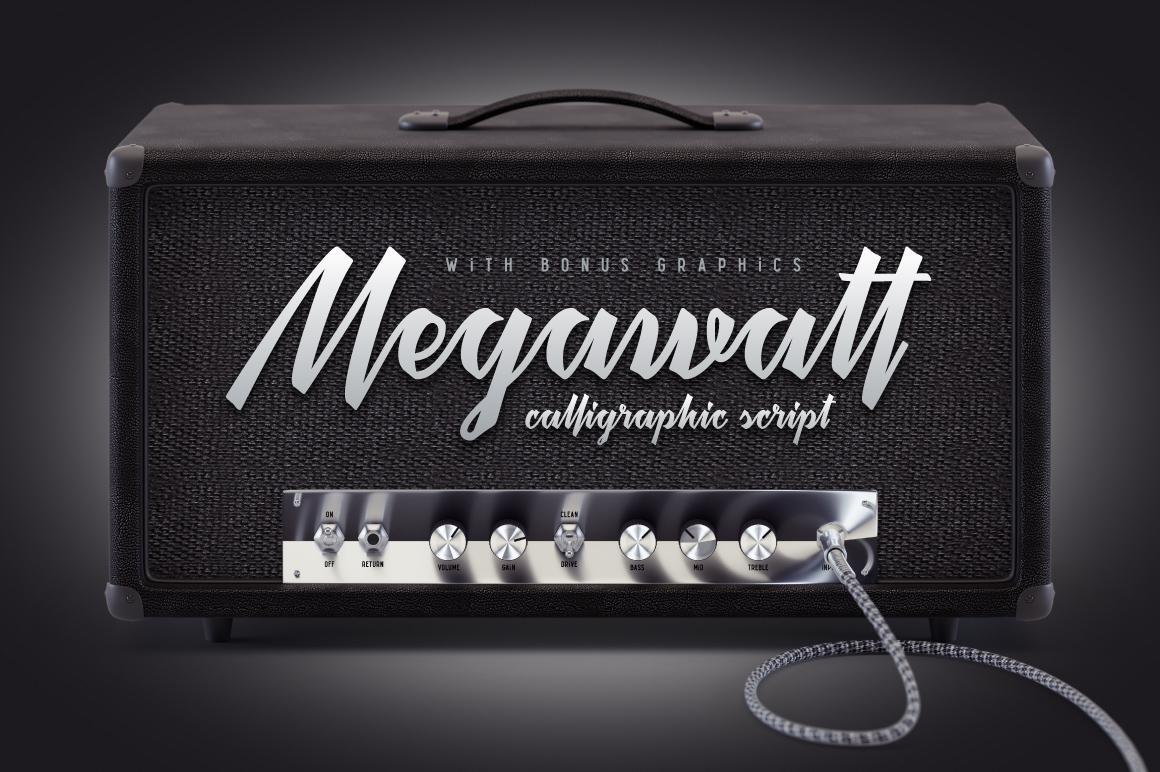 Megawatt Yazıtipi #75289