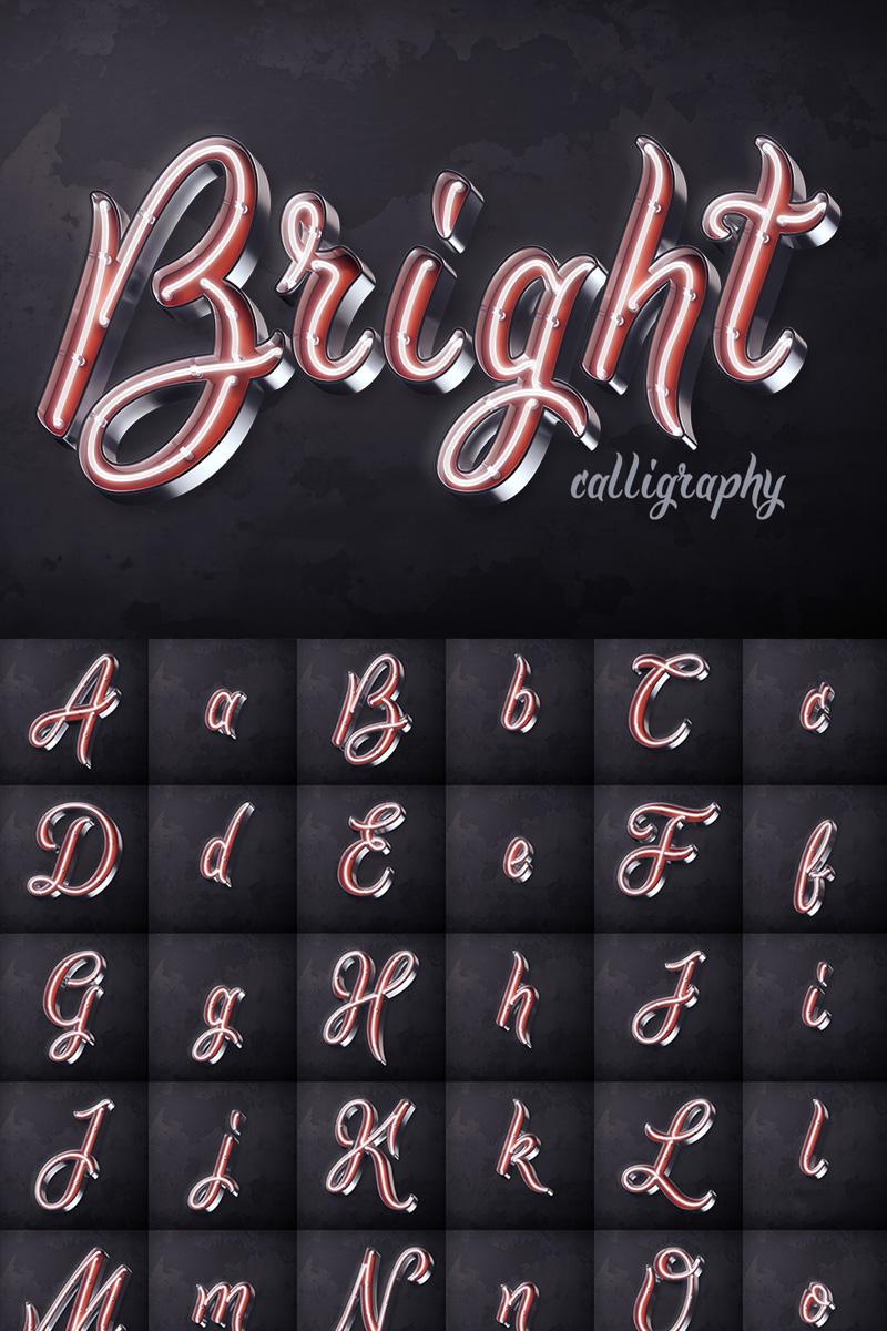 """Schriftart namens """"Bright Calligraphy PSD"""" #75295"""