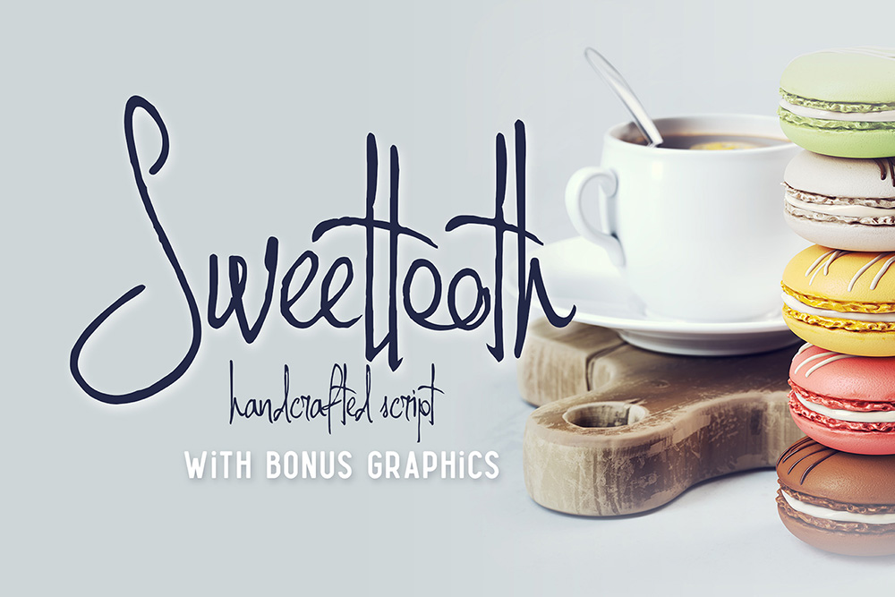 Sweettooth Script & Bonus Font