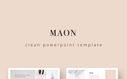 MAON PowerPoint Template