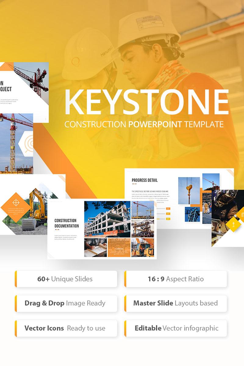 Keystone - Construction PowerPoint Template