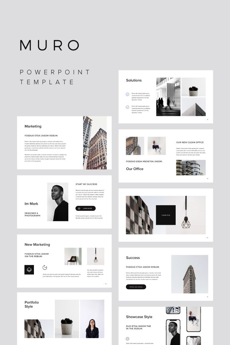 MURO - PowerPoint Template