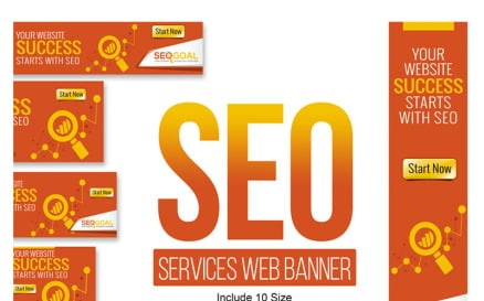 SEO Services Web Banners & Ads Animated Banner