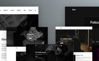 Reza - Portfolio Landing Page Template