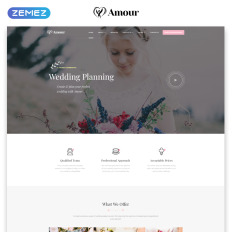 amour wedding multipage clean bootstrap html