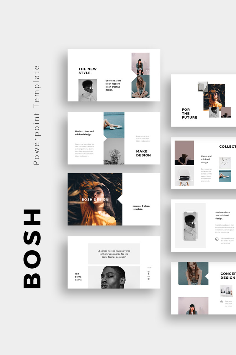 "Modello PowerPoint #75404 ""BOSH -"""