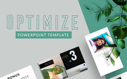 Optimize PowerPoint Template