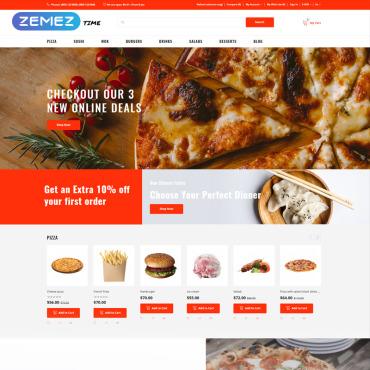 Купить  пофессиональные OpenCart шаблоны. Купить шаблон #75567 и создать сайт.