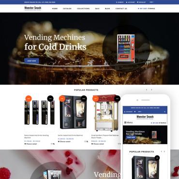 Купить  пофессиональные Shopify шаблоны. Купить шаблон #75568 и создать сайт.