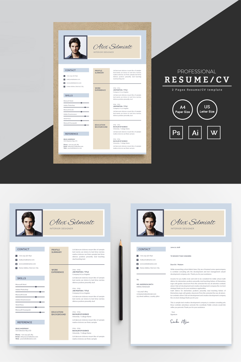 Alex Selmialt Word Resume Resume Template