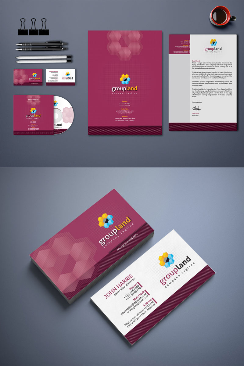 Creative and Modern Corporate Identity Template