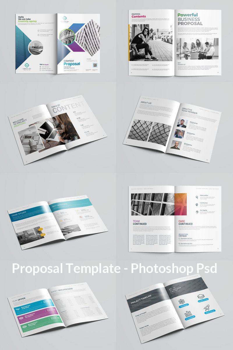 VOLUME 10 Proposal Corporate Identity Template