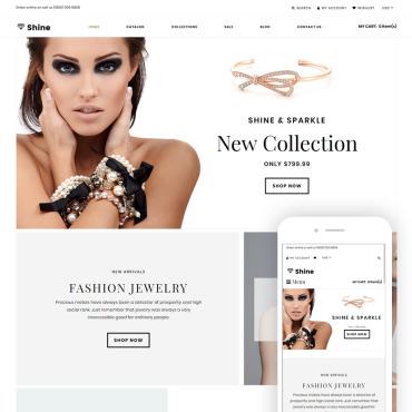 Купить  пофессиональные Shopify шаблоны. Купить шаблон #75670 и создать сайт.