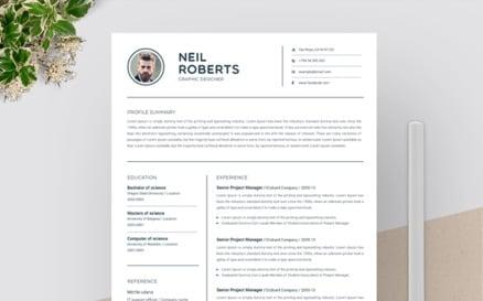 Neil Roberts - Resume Template
