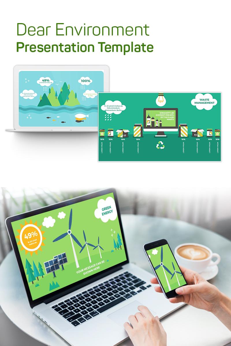 Dear Environment PowerPoint Template