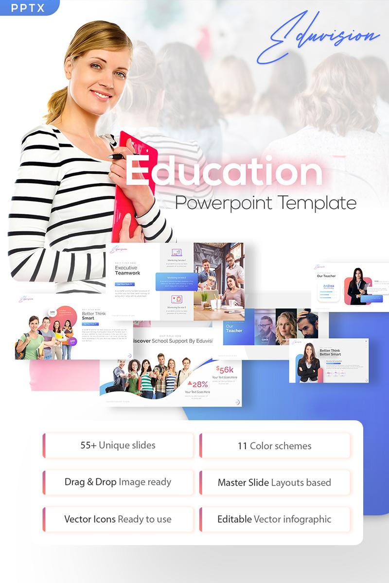 Eduvision - Education PowerPoint Template - screenshot