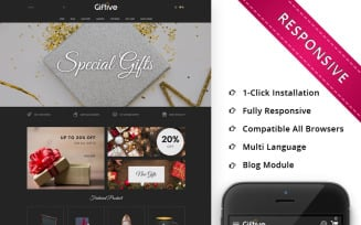 Giftive - The Gift Store Responsive OpenCart Template