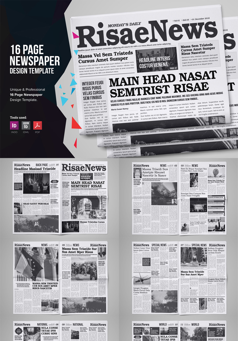 page-newspaper-design-corporate-ideny-template_75610-original Template Admin Responsive Design on responsive medical template, responsive business template, system design document template, responsive design template, responsive science template, responsive dashboard template,