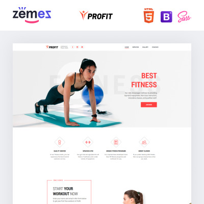 sport site templates