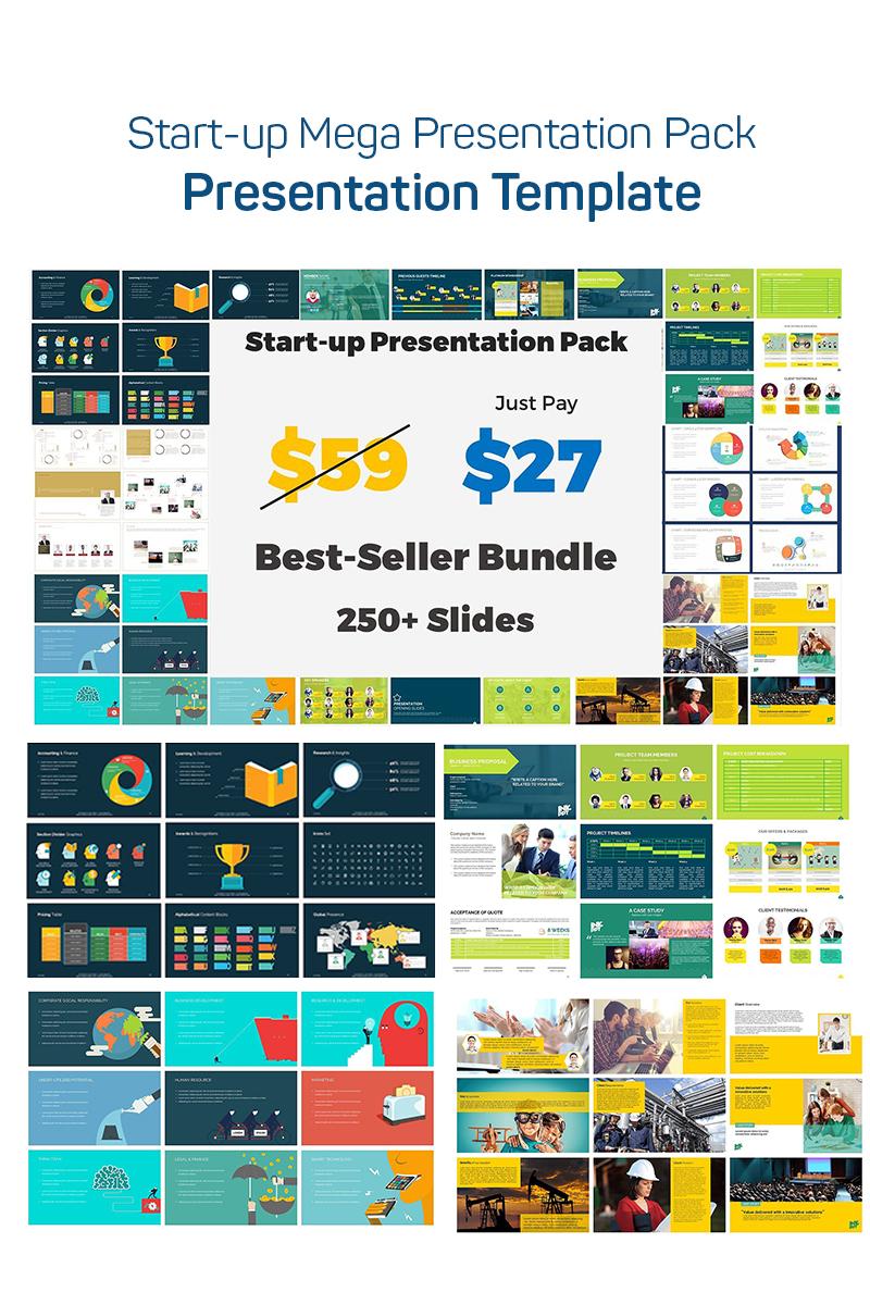 Start-up Mega Presentation Pack PowerPoint Template - screenshot