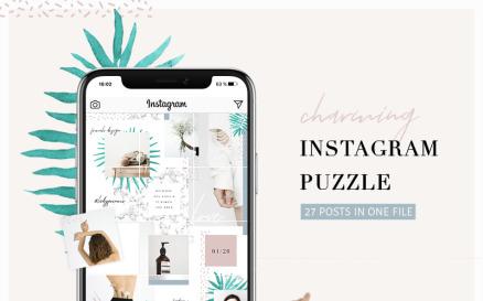 Charming Instagram Puzzle Social Media