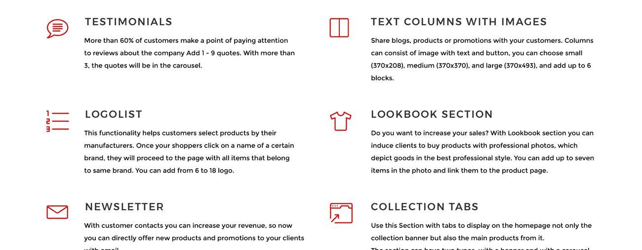 Website Design Template 75795 - storeundefined